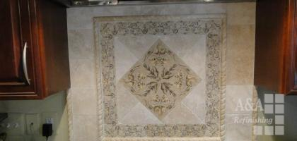 Kitchen Tile:  Wall Design
