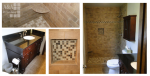 At A&A Refinishing, we pride ourselves on the details.  All of our tile work is professionally designed and installed.
